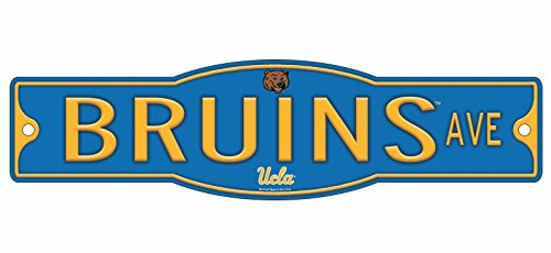 "UCLA Bruins University of California Los Angeles 4"" x 17"" Street Sign NCAA"