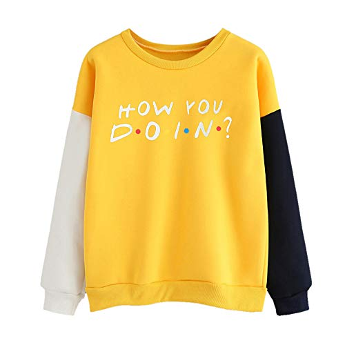 Blouses For Women,Clearance Sale!!Farjing Women Long Sleeve Letter Print O-Neck Sweatshirt Pullover Top (Marines Adult Sweatshirt)