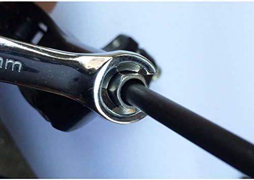 T TOOYFUL スナップオン オープンエンドレンチ 8mm&10mm コンビネーションレンチ フレアーナットレンチ 両口スパナ