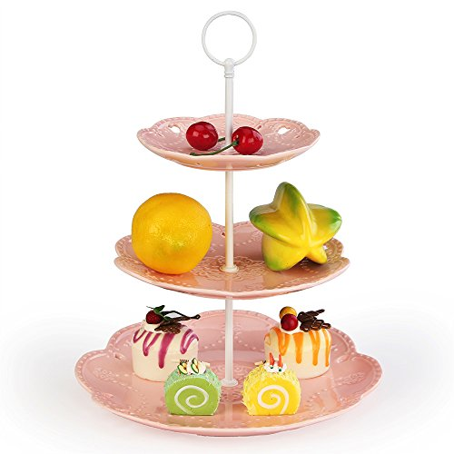 3 tiered cupcake stand - 5