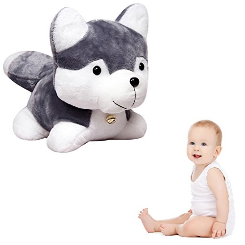 Sealive Stuffed Animal Husky Dog Dolls Plush Animal Toys Good Friend Partner for Kids Lovely Dolls Birthday Party Doll Gifts (Show Me Pictures Of Monster High)