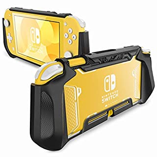 Mumba Compatible with Switch Lite, [Blade Series] TPU Protective Portable Cover Accessories Compatible with Switch Lite Console 2019 Release (Black)