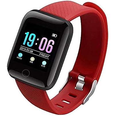 DMMDHR New Sports Smart Band 116 Plus Smart Wristband Blood Pressure Oxygen Smart Bracelet Fitness Bracelet Heart Rate Monitor Estimated Price £61.20 -
