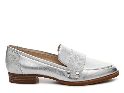 Nine West Chaussures Bateau pour Femme/US Frauen Silver