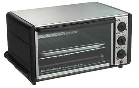 Amazon Hamilton Beach Meal Maker 6 Slice Toaster Oven Broiler