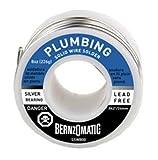 Tools & Hardware : BernzOmatic SSW800 8 oz. Lead Free, General Purpose/Plumbing Solder
