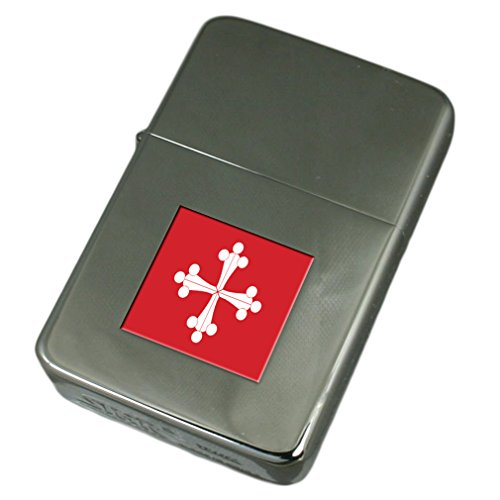 Engraved Lighter Pisa City Italy Flag by Select Gifts
