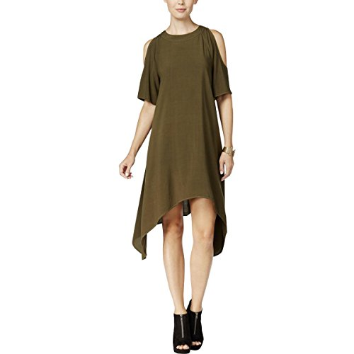 Double Chelsea Sky Button Hunter Dress Womens Asymmetrical Ozgzxtq