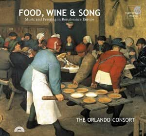 Orlando Consort Food Wine Amp Song Music And Feasting