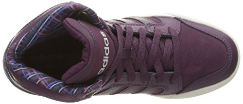 adidas Neo Damen Raleigh Mid W Casual Sneaker Merlot F15 / Merlot F15 / Perlgrau S14