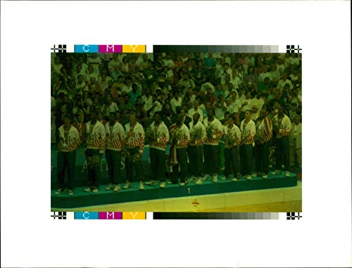 1992 Olympic Games (Vintage photo of Olympic games 1992 barcelona.)