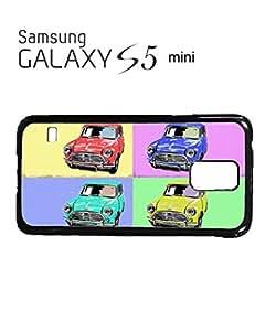 Mini Cars Vintage Mobile Cell Phone Case Samsung Galaxy S5 Mini Black