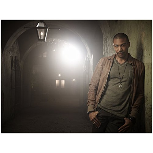The Originals (TV Series 2013 - ) 8 Inch x 10 Inch photo Charles Michael Davis Leaning Shoulder Against Archway Wall kn