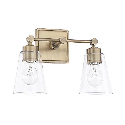 (Capital Lighting 121821AD-432 Two Light Vanity )