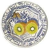 Gien Oiseau Bleu Kiwi Salad Plate