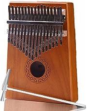 Piano de pulgar Kalimba de 17 teclas, para niños y adultos, principiantes a profesionales