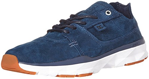 Dc Mens Player Zero Scarpe Da Skateboard Indaco