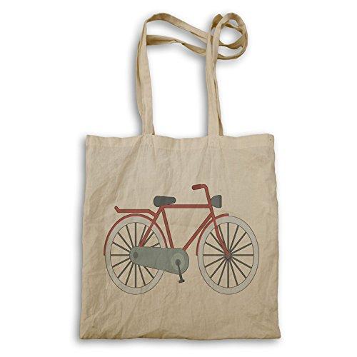 Vintage Retro Fahrrad Tragetasche q765r