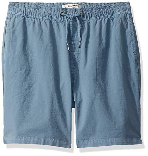 Billabong Boys' Larry Layback Walkshorts Blue Large