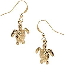 Sea Turtle 3D Earrings by Cape Cod Jewelry-CCJ