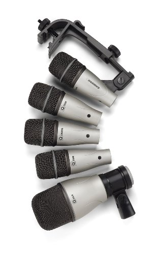 samson 5kit 5 piece drum microphone set buy online in uae electronics products in the uae. Black Bedroom Furniture Sets. Home Design Ideas