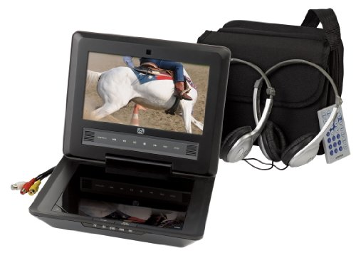 Audiovox D9104PK 9-Inch LCD Portable DVD Player with Four Hour Playback and Accessory Pack, Black by Audiovox