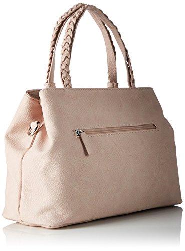 GERRY WEBER Braided Ii Handbag Mhz - Bolso de mano Mujer Pink (Pink (rose))