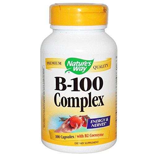 Natures Way Vitamin B 100 Complex Capsules, 100 per unit -- 12 per case. by Nature's Way