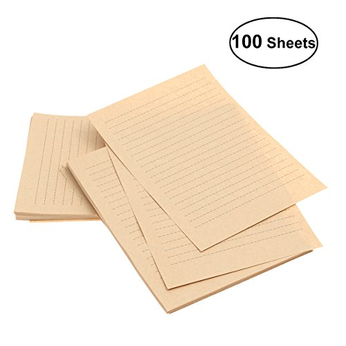 A4 Size Ruled Paper - 6