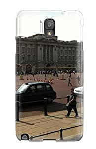 Galaxy Note 3 Case Cover - Slim Fit pc Protector Shock Absorbent Case (big Ben And The Parliament Square View )