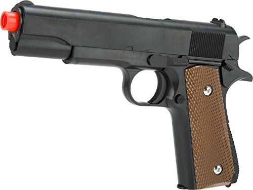 Evike - ASP Full Size Spring Powered GI Style 1911 Airsoft Pistol ()
