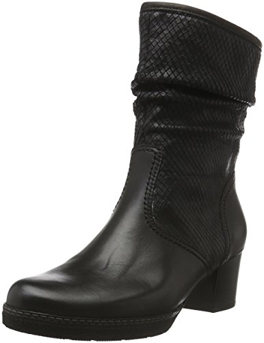 Gabor Women's, Ailish, Cold Lined Classic Boots Short Length Black