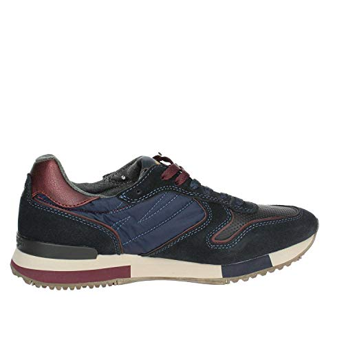 Forest Wrangler wm182115 Sneakers Navy Uomo Suede Cod Col FOwExOrqR
