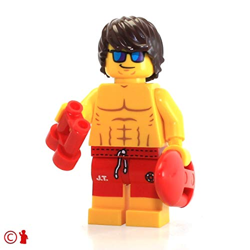 LEGO Series 12 Collectible Minifigure 71007 - Lifeguard Guy
