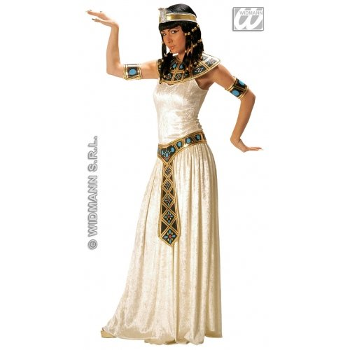 Ladies Egyptian Empress Costume Small Uk 8-10 For