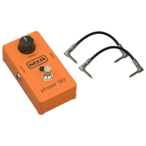New Dunlop MXR M101 Phase 90 Phaser Effects Pedal Bundle with 6
