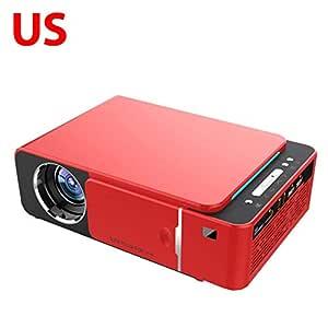 AIMERKUP T6 3500 lúmenes HD Proyector LED portátil 1280 720 ...