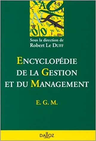 Encyclopedie de la gestion et du management