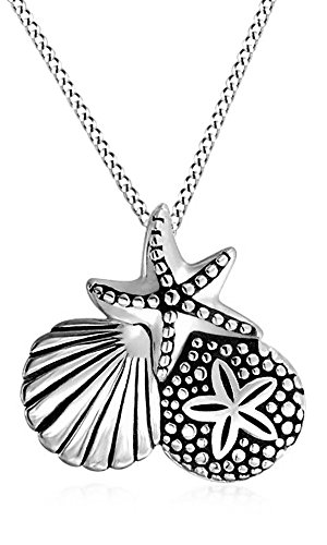 Sand Dollar Nautical Pendant - 9