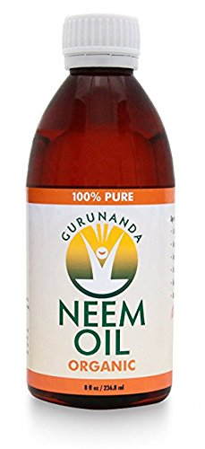 GuruNanda 100% Pure Organic and Holistic Neem Oil for Hair, Skin & Immune System