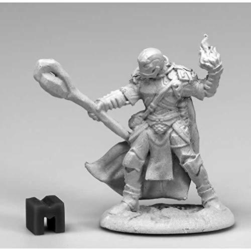 Golem Miniatures - Reaper Miniatures Battleguard Golem Magus 03906 Dark Heaven Unpainted Metal Mini