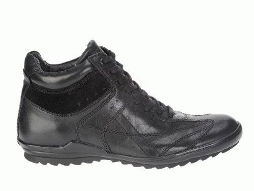 Geox , Herren Sneaker schwarz schwarz