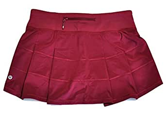 Amazon.com: Lululemon Womens Pace Rival Skirt II Rosewood