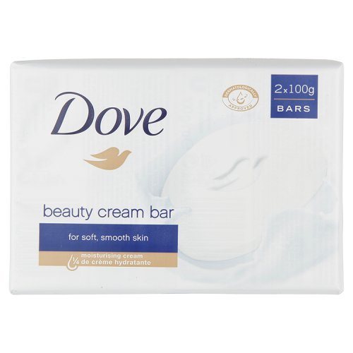 Dove - Beauty Cream Bar - Pastilla limpiadora - 2 x 100 g Unilever 8236289