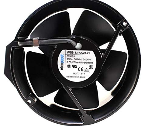 EBM-PAPST W2E143-AA09-01 230V-AC 6-3//4 in Cooling Fan B409918