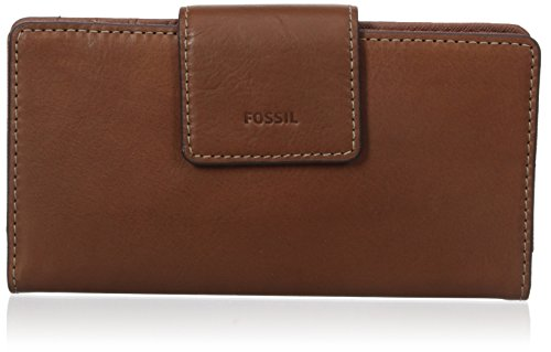 Fossil Emma Tab Wallet Rfid, Brown Leather