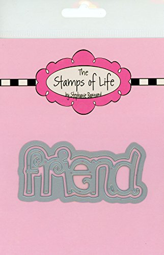 Friend Die Cuts for Card-Making Scrapbooking and DIY Crafts and DIY Crafts by The Stamps of Life - Friend Word