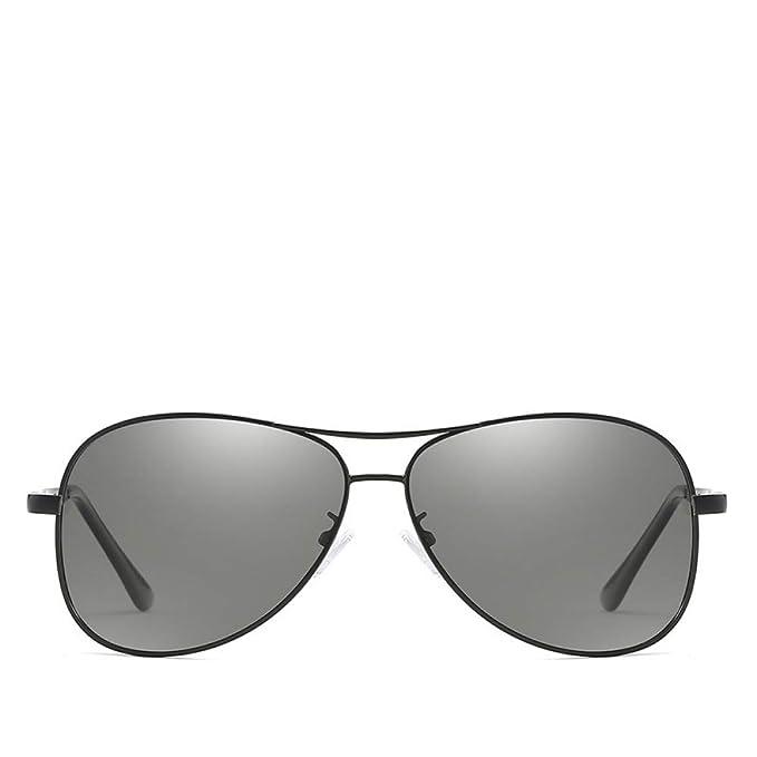 CCMOO 2018 Gafas de sol fotocromáticas Hombres Gafas de sol polarizadas Hombre Camaleón Gafas de sol Piloto masculino Gafas de conducción clásicas Gafas ...