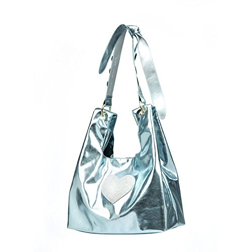GSHGA Nueva caring lindo bolso de compras de gran capacidad ocasional bolso de mano bolso portátil Totes baguettes Blue