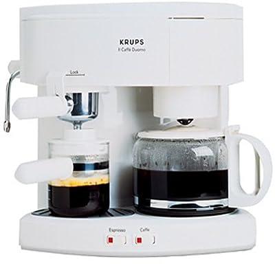 Krups 985-71 Il Caffe Duomo Coffee and Espresso Machine, White